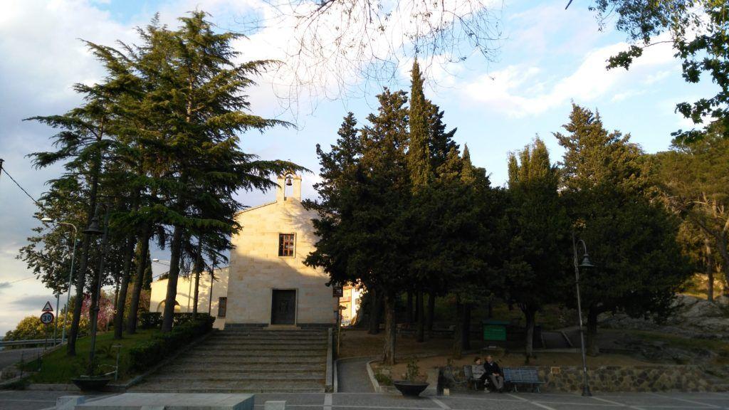 La chiesa della solitudine, a Nuoro.
