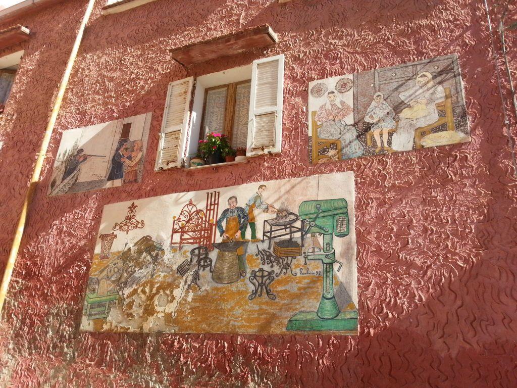 I murales di Paolino Sanna a Sedini
