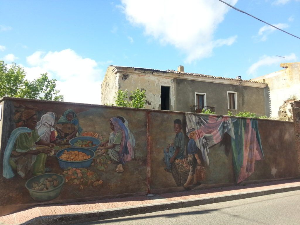 Murales a Dualchi